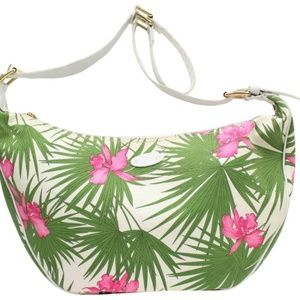 Céline Floral Palm Tree Hobo 869205